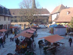 Weihnachtsmarkt Schloss Köniz 2013