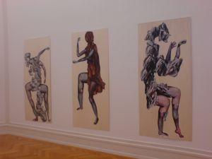 (Collage auf Holz, Alex Güdel, 2012)