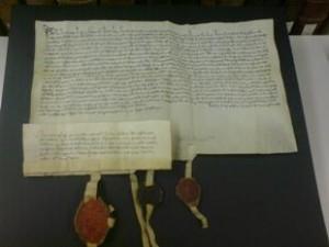 Urkunde von 1397
