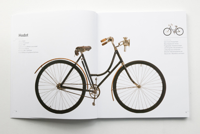 Fahrrad Marke Hodot, Damen Luxusmodell, Frankreich, 1907