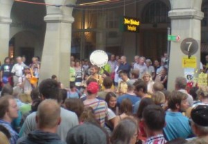 Perhaps Contraption, Progressive Brass, am Buskers Bern 2014