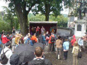 Gipsy Folk Jazz mit Sheelanagig aus UK am Buskers Bern 2013