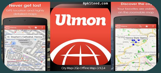 App Citymaps2go von Ulmon.com