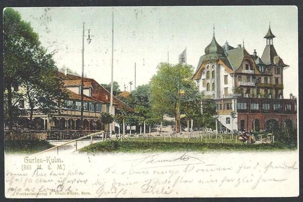 Hotel Restaurant Gurten Kulm um 1903
