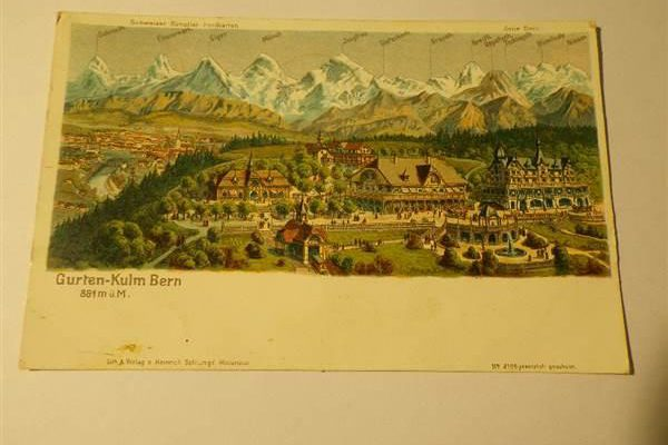 Gurten Kulm Bern 1906