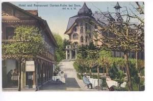 Hotel Gurten 1920