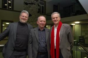 Henri Huber, Hugo Staub, Luc Mentha
