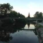 Morgenstimmung am Klara Sjö in Stockholm