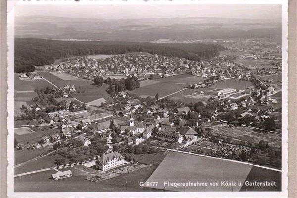 Köniz Gartenstadt Anfang 30er Jahre