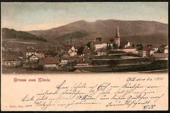 Köniz um 1900