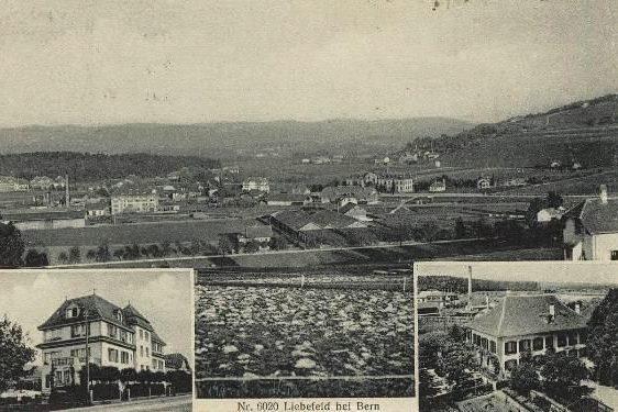 Liebefeld um 1918