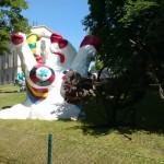 Skulptur von Niki de Saint Phalle, Paradis fantastique, Moderna Museet Stockholm