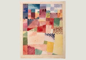 Paul Klee, Motiv aus Hamammet, 1914,