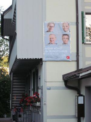 Plakat Koenizstrasse