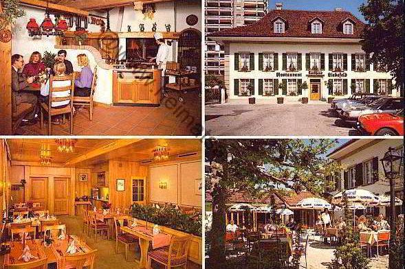 Restaurant Landhaus Liebefeld 70er Jahre