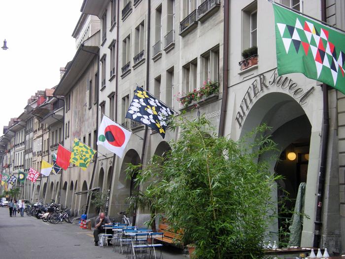 Küchenladen Rathausgasse Bern ~ biennale bern flaggen in der rathausgasse laden zum
