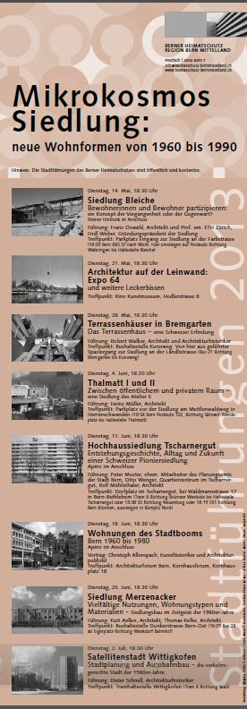 Stadtführungen Bern 2013