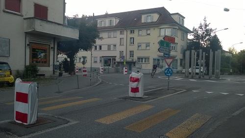 Tour de France 2016 - Kreisel Hessstrasse - Schwarzenburgstrasse