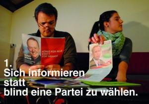 Wahlanleitung der Juso für die Gemeindewahlen 2013