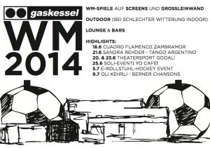 Programm WM 1014 Public Viewing Gaskessel